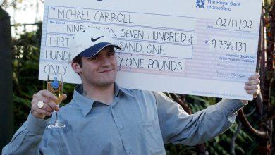 lixeiro ganha na loteria