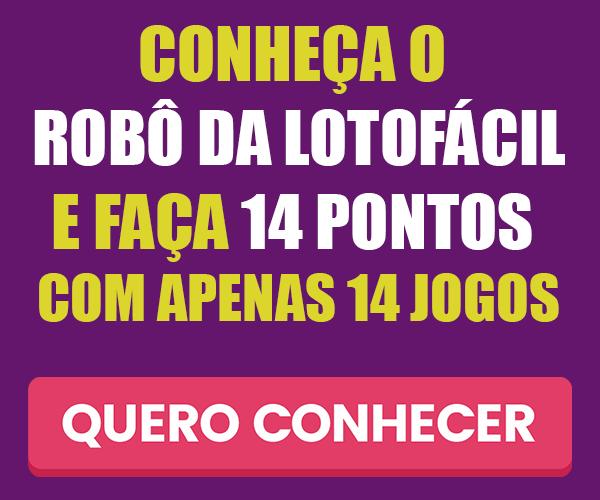 robo lotofacil